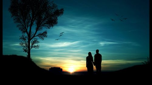 couples-silhouette-in-the-sunset-photography-hd-wallpaper-1920x1080-3496